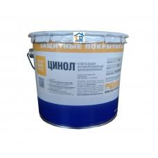 Краска цинконаполненная ЦИНОЛ для металлических поверхностей 7 кг.