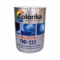 Эмаль ПФ-115 Colorika бирюзовая 0,8 кг.