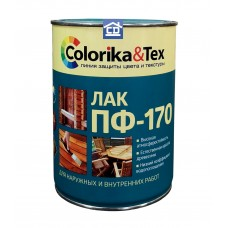 Глянцевый лак ПФ-170 Colorika&Tex 0,8 л.