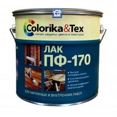 Глянцевый лак ПФ-170 Colorika&Tex 10 л.