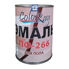 Краска для пола ПФ-266 желто-коричневая ColoRay 0,8 кг.
