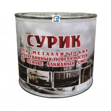Краска масляная МА-15 сурик СЛКЗ 2,1 кг.
