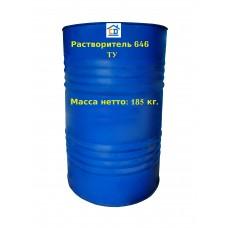 Растворитель 646 ТУ в бочке 185 кг. ДПХИ
