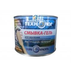 Смывка-гель для старой краски Главный технолог 0,6 кг.
