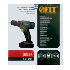 Дрель-шуруповерт аккумуляторная FIT арт. 80187