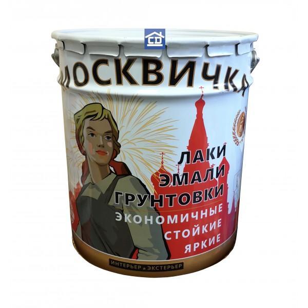 Грунтовка ГФ-021 красно-коричневая Москвичка 25 кг.