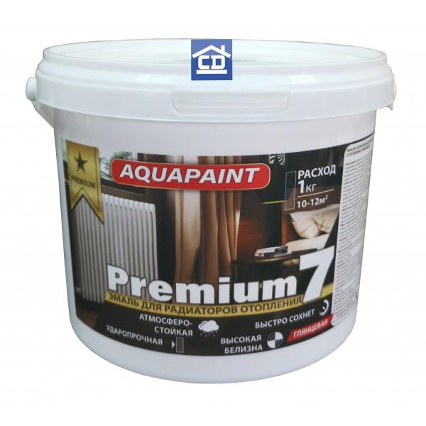 Краска для батарей Aquapaint 1,0 кг.