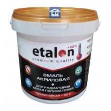 Краска для радиаторов отопления полуматовая Etalon 1 кг.