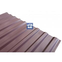 Профнастил МП 20 коричневый 0,35 мм.