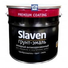 Грунт-эмаль по ржавчине желтая Slaven 3,2 кг.