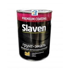Грунт-эмаль Slaven черная 1,1 кг.
