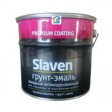 Грунт-эмаль Slaven желтый 3,2 кг.