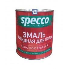 Эмаль для пола ПФ-266 золотисто-коричневая Specco  2,7 кг.