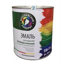 Эмаль ПФ-115 малиновая Ярославский Колорит 1,9 кг