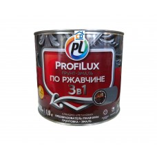 Грунт-эмаль по ржавчине 3 в 1 желтый Profilux 0,9 кг.